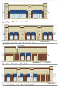 Twin Lakes Dental Care Elevation Drawings